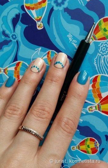 Лето, море, песок, Dior...с маникюрным набором Polka Dots Colour & Dots Manicure Kit #001 Pastilles — Отзывы о косметике — Косметиста