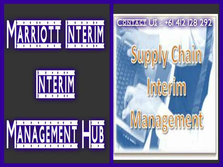 Marriott Interim provides you the C level interim's who firstly properly understand your business then deliver the best suited results.