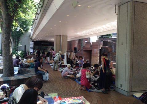新宿三井ビル55HIROBA フリーマーケット [2015年9月19日、20日]【Lets】レッツエンジョイ東京