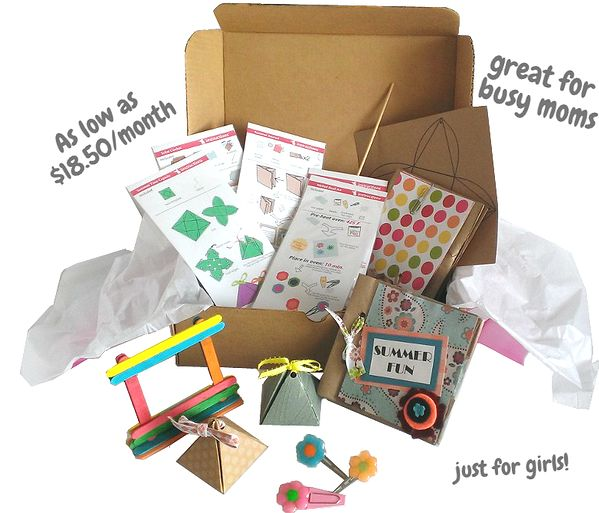 29 best kid crafts images on pinterest crafts day care for Kid craft subscription box