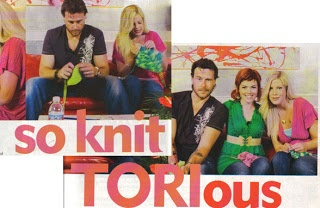 My interview with Tori & Dean for Knit.1 Magazine, Spring '07