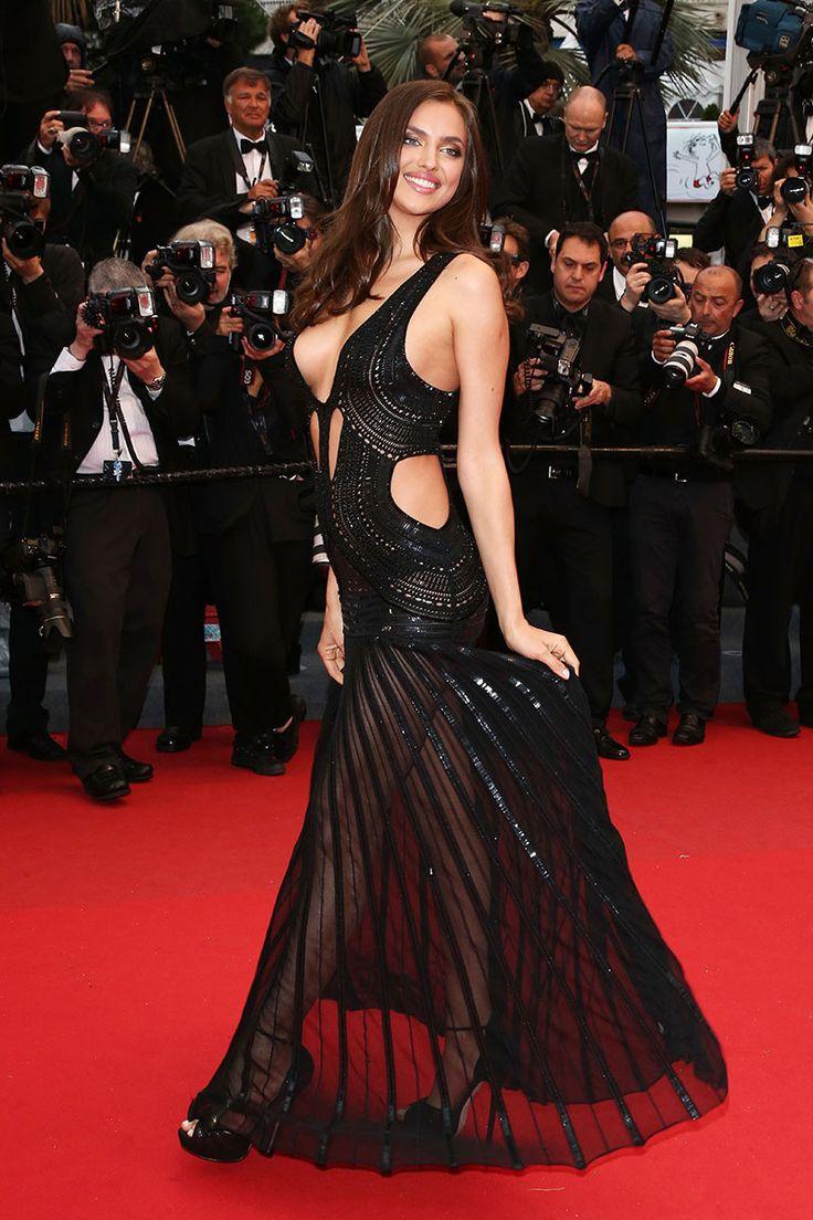 Irina Shayk de Roberto Cavalli - Festival de Cannes 2013