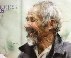 Image result for chinese watercolor portraits
