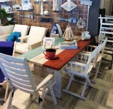 Xειροπoίητο τραπέζι 2.00m Tricolor