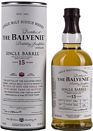 The Balvenie Single Barrel de 15 ans Malt Whisky – 70cl: The Balvenie Single Barrel de 15 ans Malt Whisky – 70cl Cet article The Balvenie…