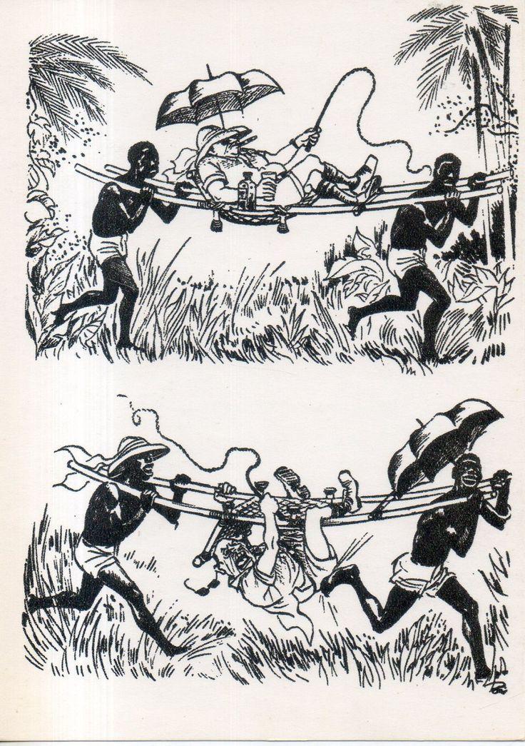 Херлуф Бидструп. Положение в Африке.1964