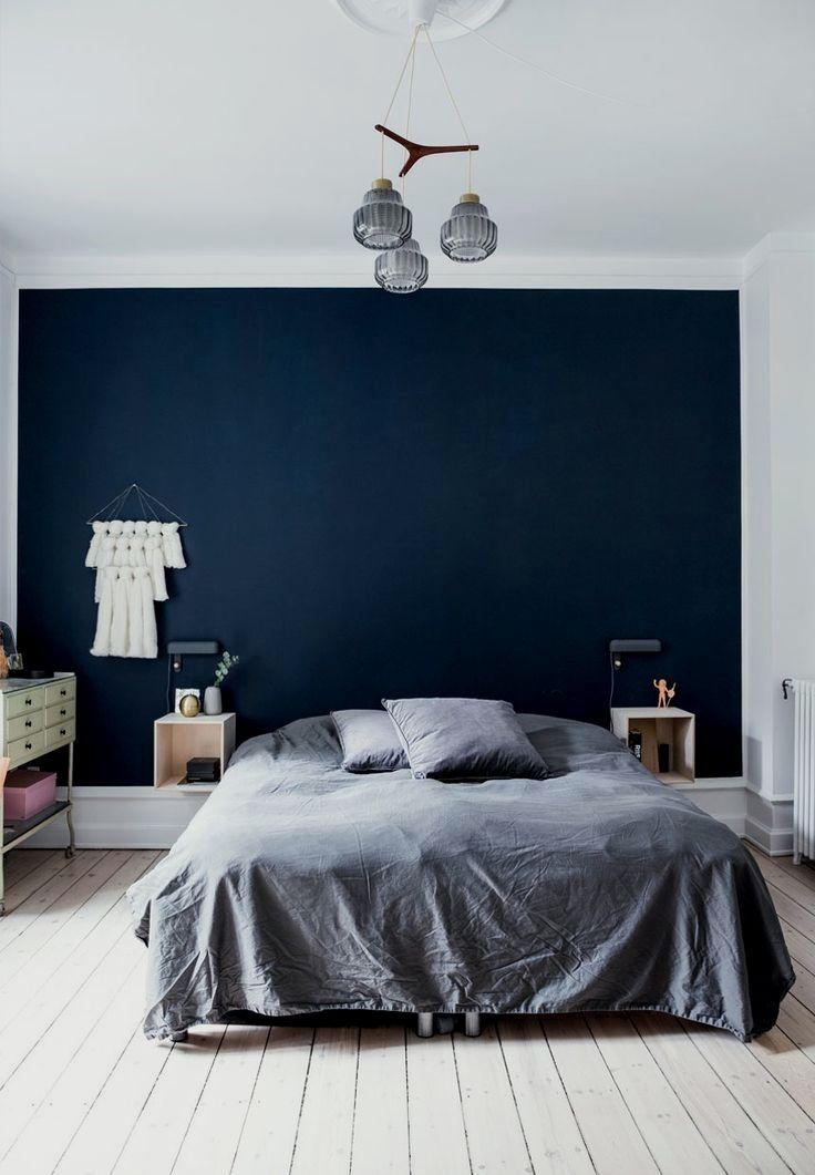 Bedroomdesign Bedroomideas Bedroomgoals Bedroomdecor Bedroom Dark Blue Bedroom Walls Blue Bedroom Walls Bedroom Wall Paint