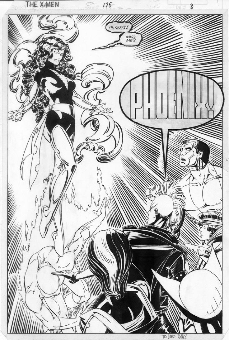 Paul Smith - Dark Phoenix: X Men, Grey Phoenix Marvel Girl, Jean Grey Phoenix Marvel, Comic Cartoon Kingdom, Marvel Comics, Comic Book, Marvel Universe