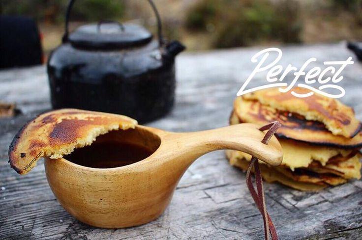 Amerika nske Pannekaker 💜 Brød på tur 💜 Mellomgrovt pinnebrød 💜 # matpåtur # turmat # lettmat # mat # tur # niste # nistemat # fjellmat # fjell # fjellkos