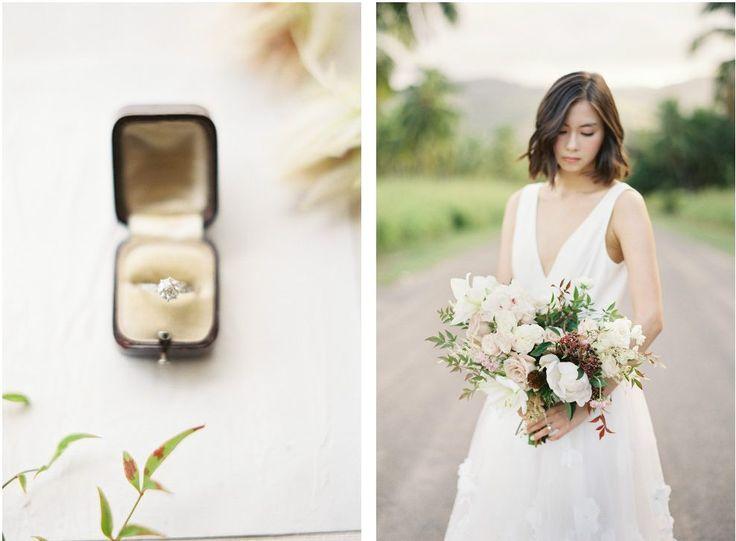 Photography: Christine Clark #hawaii #engagementring #エンゲージメントリング #指輪 #ウエディング #結婚式 #ハワイ