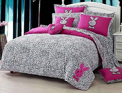 europe style playboy tiger stripe lovly cartoon luxurious bedding set