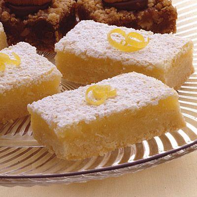 Double Lemon Bars | Land O'Lakes