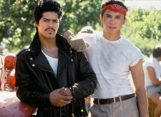 "LaBamba; There are so many quotes from this movie, and all from Bob.. ""Ritchie!!!!"", ""it's not my first, or my last"" and ""WhyshouldIbe?"""