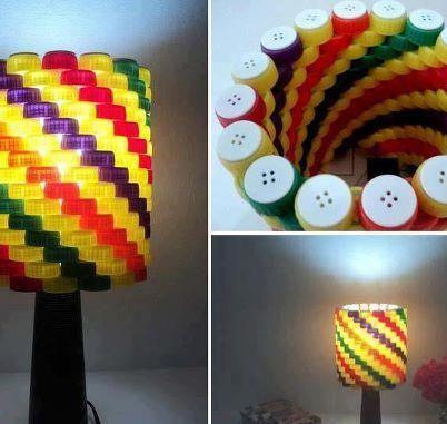 ideas con tapas recicladas                                                                                                                                                                                 Más