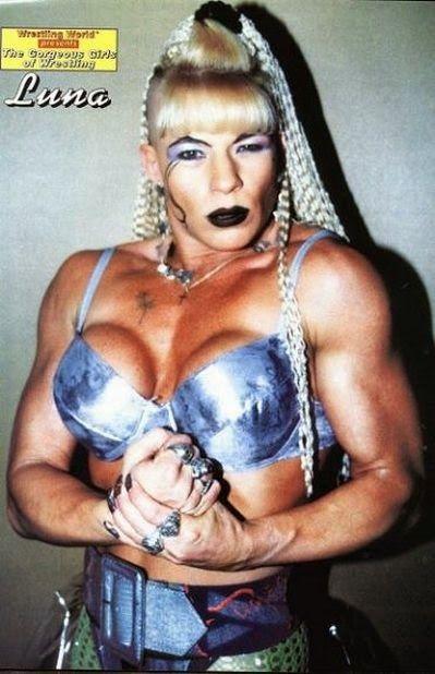 Luna Vachon - Classic Womens Wrestling