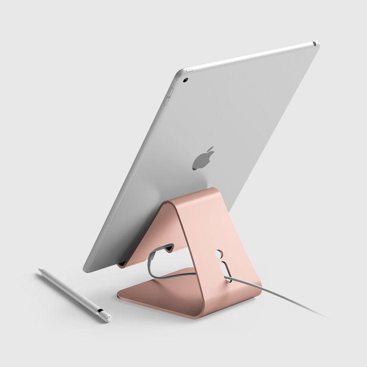 elago P4 Stand for iPad Pro, iPad air, iPad, iPad mini & Tablet PC - Rose Gold.