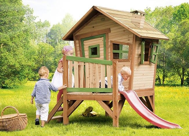 Toddler Wooden Playhouse | Spark your little ones' imaginations with hours of fun and a place they can go to play with their toys and games while filling their lungs with fresh air
