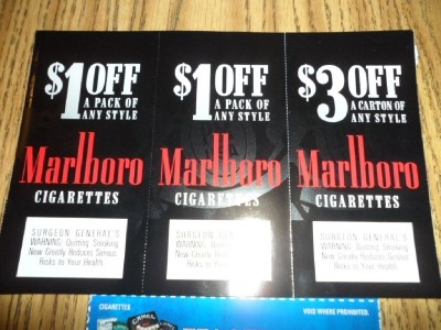 Free camel cigarette coupons by mail