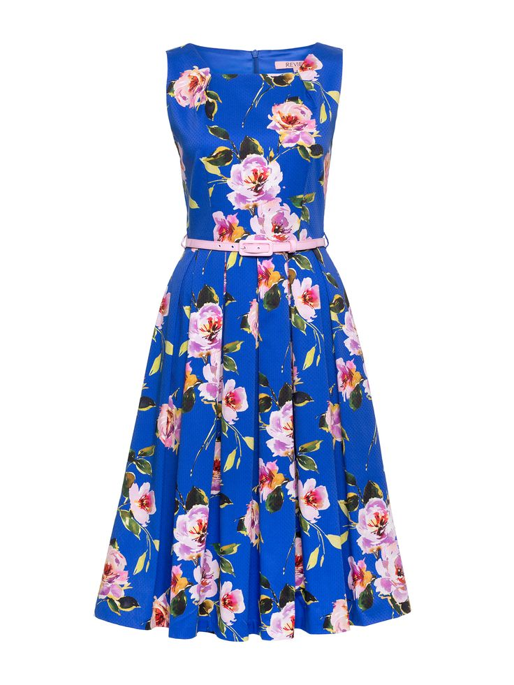 Alouette Prom Dress | Azure Blue & Multi | Prom Dresses