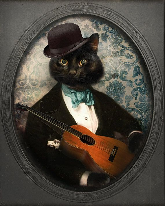 Black Cat Print  Cat Art Animal Photography  Cat by TheLonelyPixel, $30.00