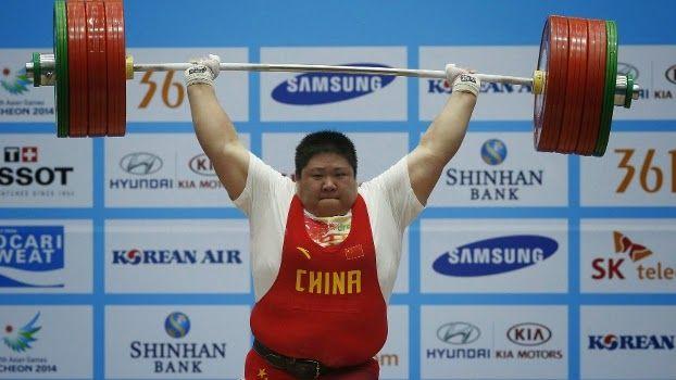 Blog Esportivo do Suíço: Chinesa se torna mulher a levantar mais peso na história