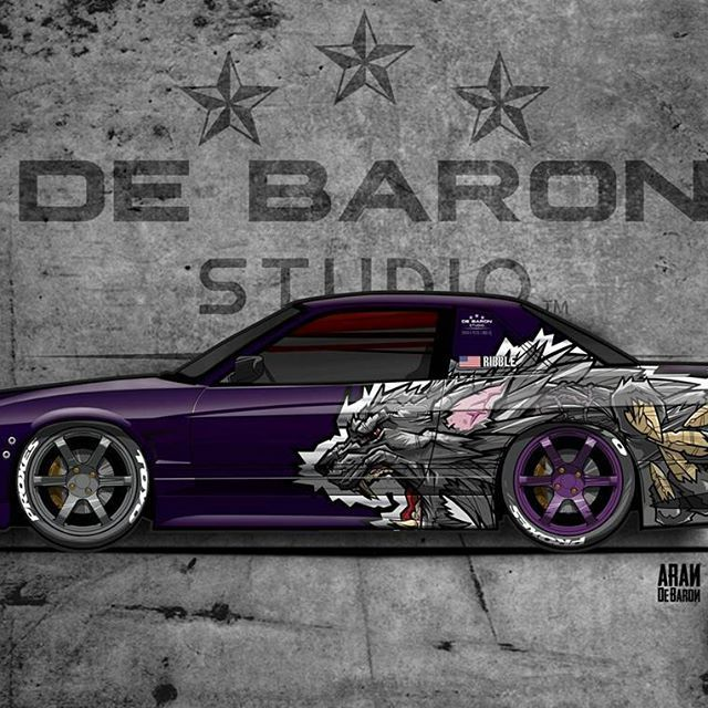My latest project for team @jay_ribble . The one and only #American #Werewolf. New #liverydesign for #driftcar in USA. #unique & #prestige #art from my #sketchbook . #debaronstudio #turbocharged #turbolife #nissan240sx #wrappedworld #wrappermapper #worldwidewrap #skepple #wrapshops #wrapdesign #vinyldesign #vinylwrap #layednotsprayed #paintisdead #rotiform #bmw #audi #mercedesbenz #libertywalkaustralia #wrapchannel #carart #metrorestyling