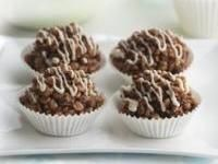 Chocolate Crackles--(Australian chocolate rice crispy treats)