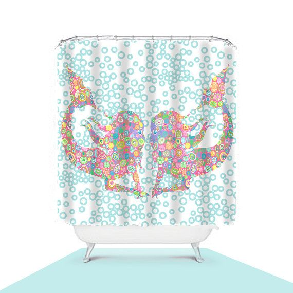 1000 Ideas About Mermaid Shower Curtain On Pinterest