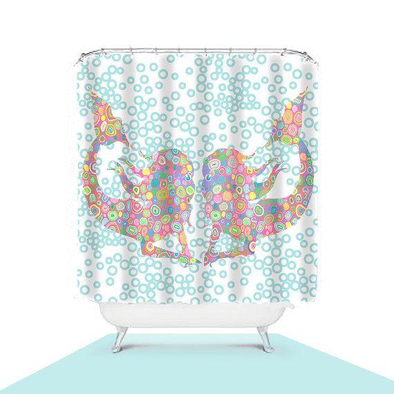 1000 Ideas About Mermaid Shower Curtain On Pinterest