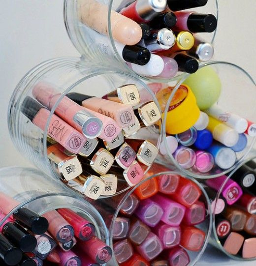 Organizing all your makeup can be a real challenge, here's 20 mind blowing DIY makeup storage ideas to give you a helping hand.