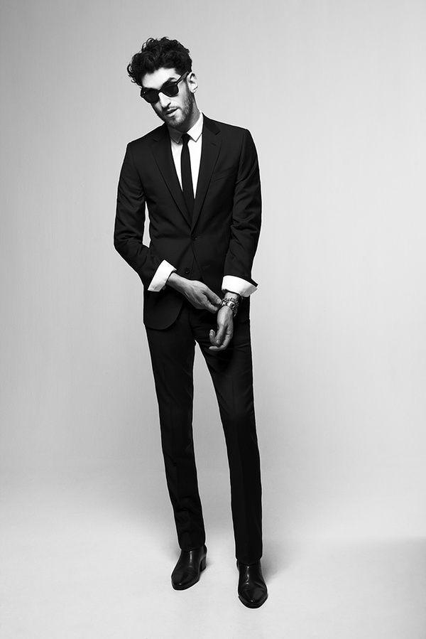 suit // #datenight #menswear