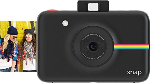 From 57.58:Polaroid Snap Instant Digital Camera (black) Wih Zink Zero Ink Printing Technology