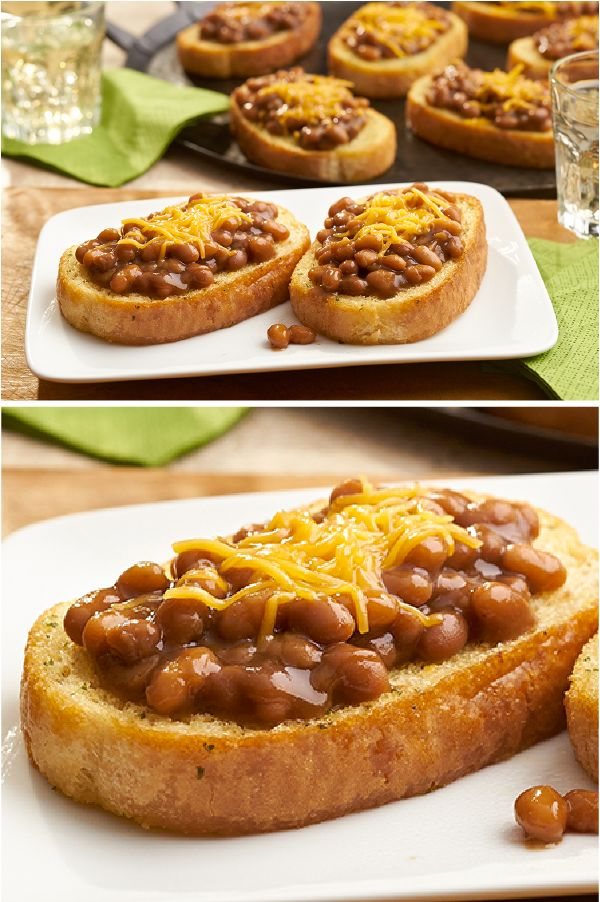 recipe: beans on toast with cheese [19]