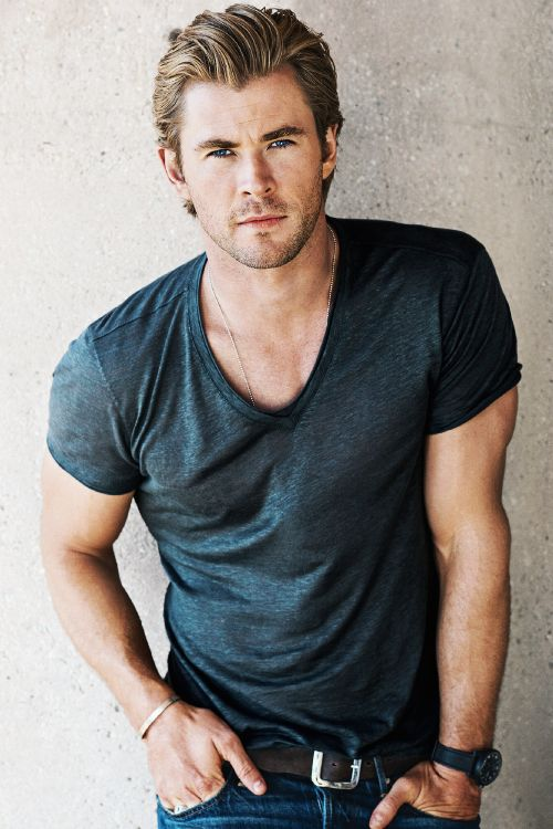 Chris Hemsworth by Sebastian Kim for GQ, 2014