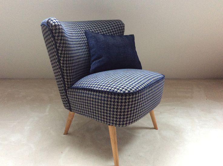 retapisser un fauteuil cocktail les tendances de la mode. Black Bedroom Furniture Sets. Home Design Ideas