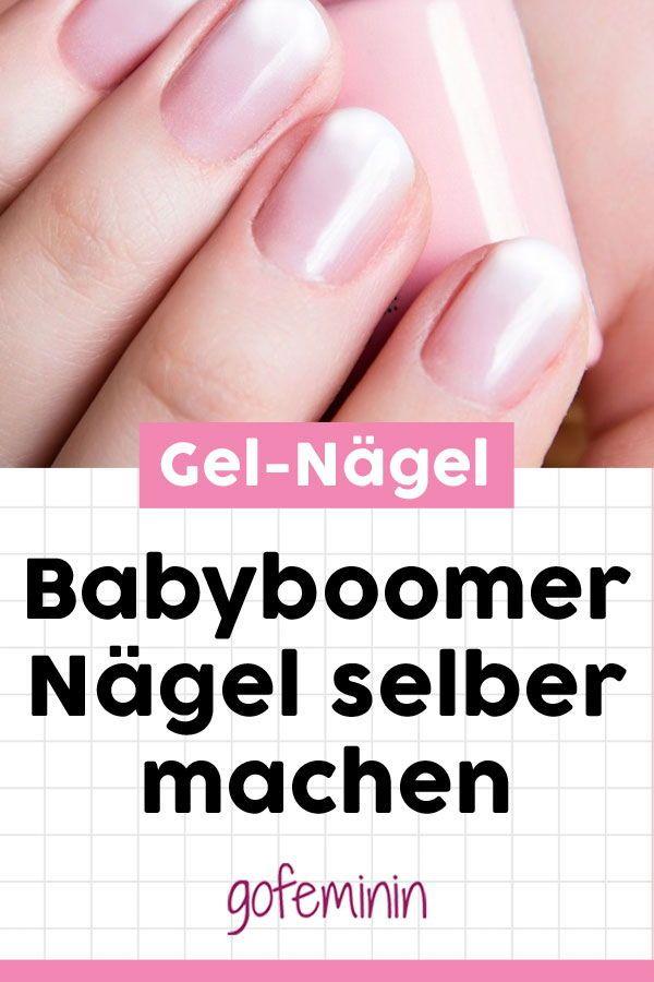 Wie aus dem Nagelstudio: So können Sie Babyboomernägel selber machen – Beauty-Tipps // Make-up Tutorials