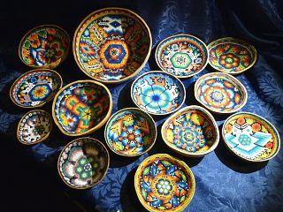 Artigianato del popolo Huichol del Messico