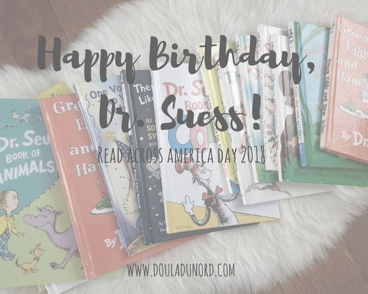 Ideas to celebrate Dr. Suess' birthday and Read Across America Day!