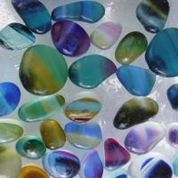 Multi Color English Sea Glass