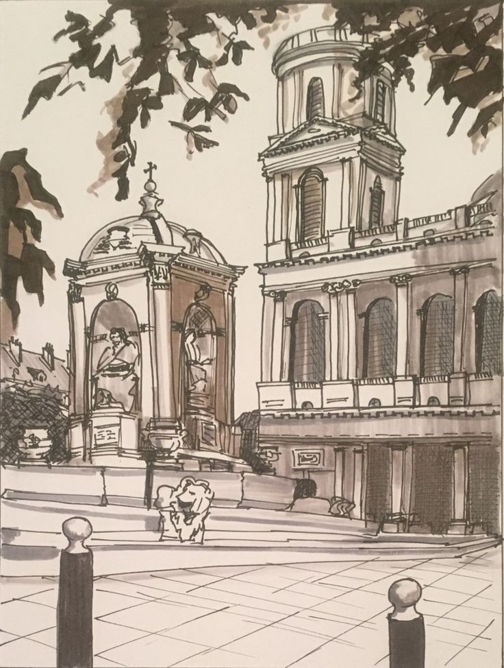 Day 27 Église Saint-Sulpice from 14/10/2015