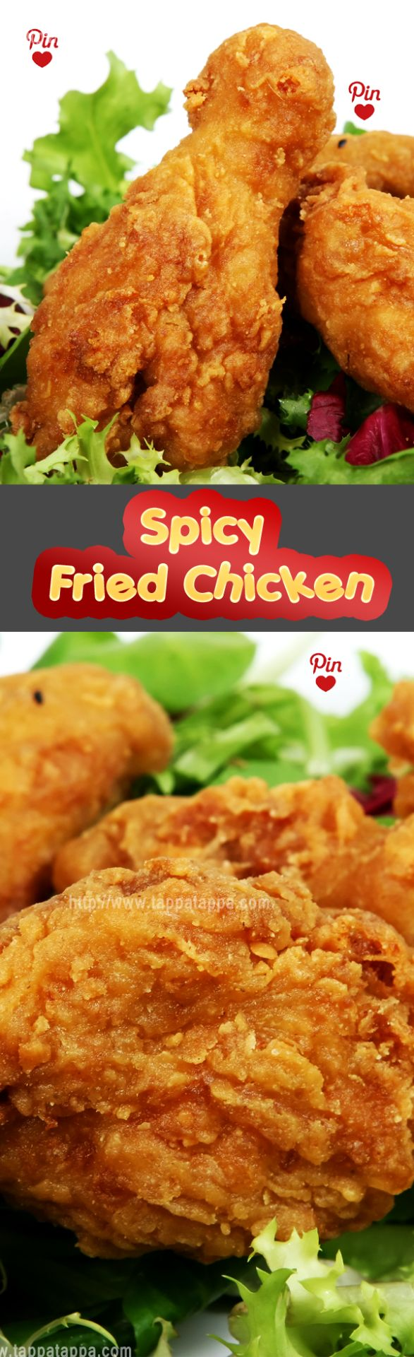 Spicy Fried Chicken Recipe  Here classic buttermilk fried chicken gets a spicy t…