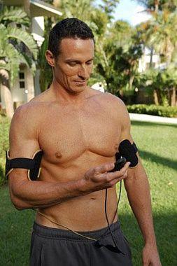 Аксессуар миостимулятор для тренировки мышц рук для мужчин Slendertone System Arms