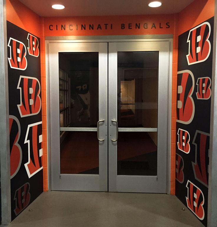 This Is A Project We Did For The Cincinnati Bengals Team Dining Room It Features