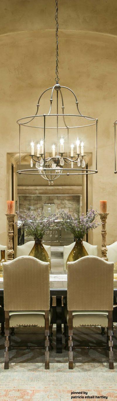Mediterranean tuscan old world decor mediterranean for Old world dining room ideas