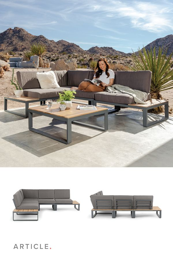 Function And Fashion Arranged To Your Liking The Kezia Modular Sofa Is All The Loungey Comfort Of Outdoor Sectional Couch Retail Furniture Article Furniture