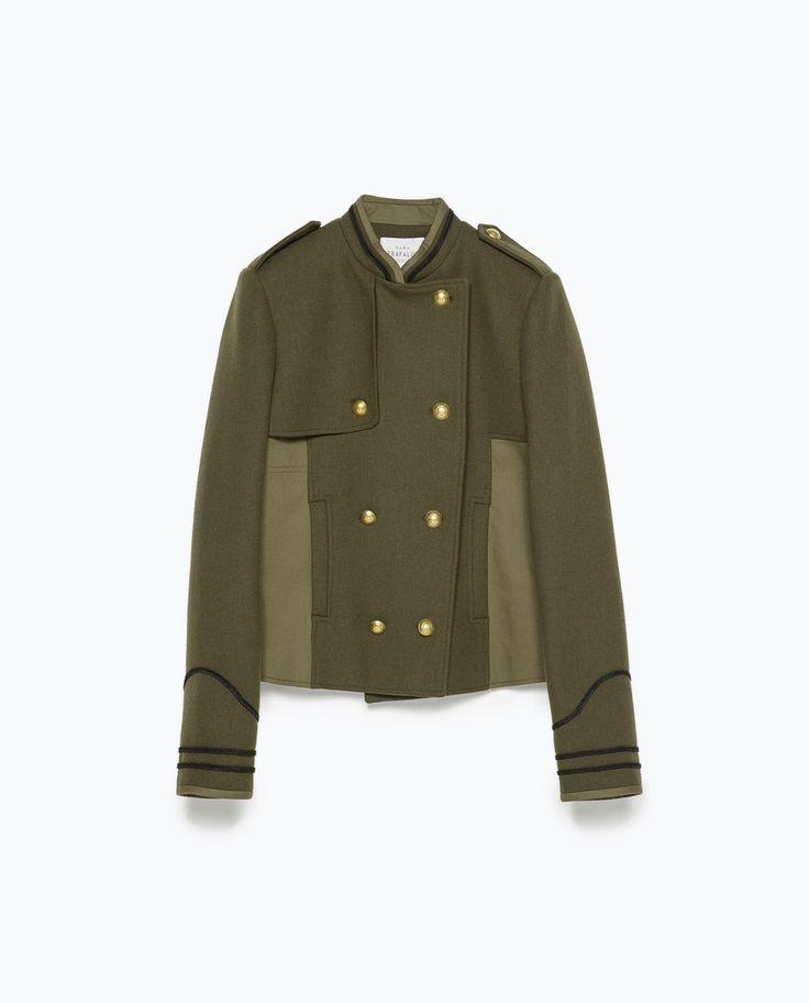 COMBINED ARMY JACKET-Jackets-Jackets-WOMAN | ZARA United States