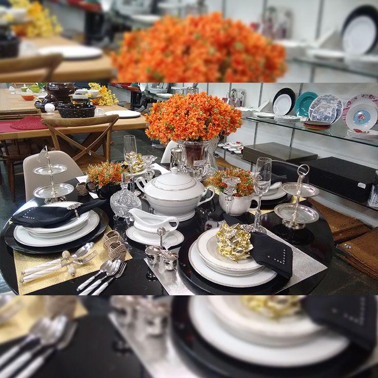 Final de semana chegando... Que tal montar uma bela mesa para o jantar de hoje e amanhã?   Aproveite, hoje, loja aberta até às 13h00.