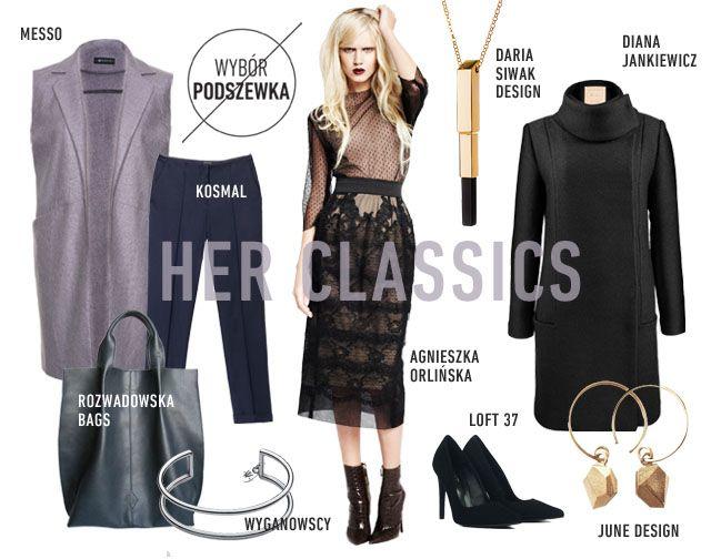 BLOGGERS CHOICE: Her Classics www.hushwarsaw.com #hushwarsaw #hushwrsw #special #brands #polish #fashion #trade #fair #bloggers #choice #podszewka #messo #rozwadowskabags #wyganowscy #loft37 #dianajankiewicz #dariasiwiakdesign