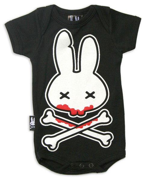 Bodýčko Six Bunnies - Blood Bunny