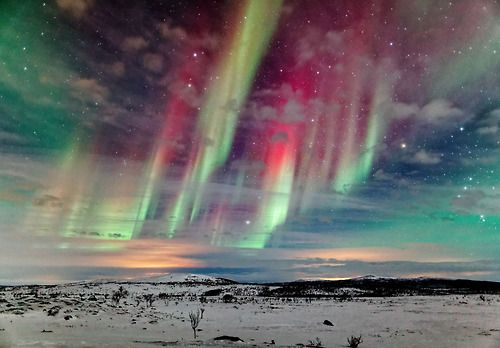 Finland's Aurora by Jamie Cooper. Those kind of things just fascinate me